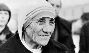 (FILES) Photo taken 21 January 1980 in Copenhagen of Roman Catholic nun Mother Teresa, who received the Peace Nobel Prize 1979.¬AFP PHOTO