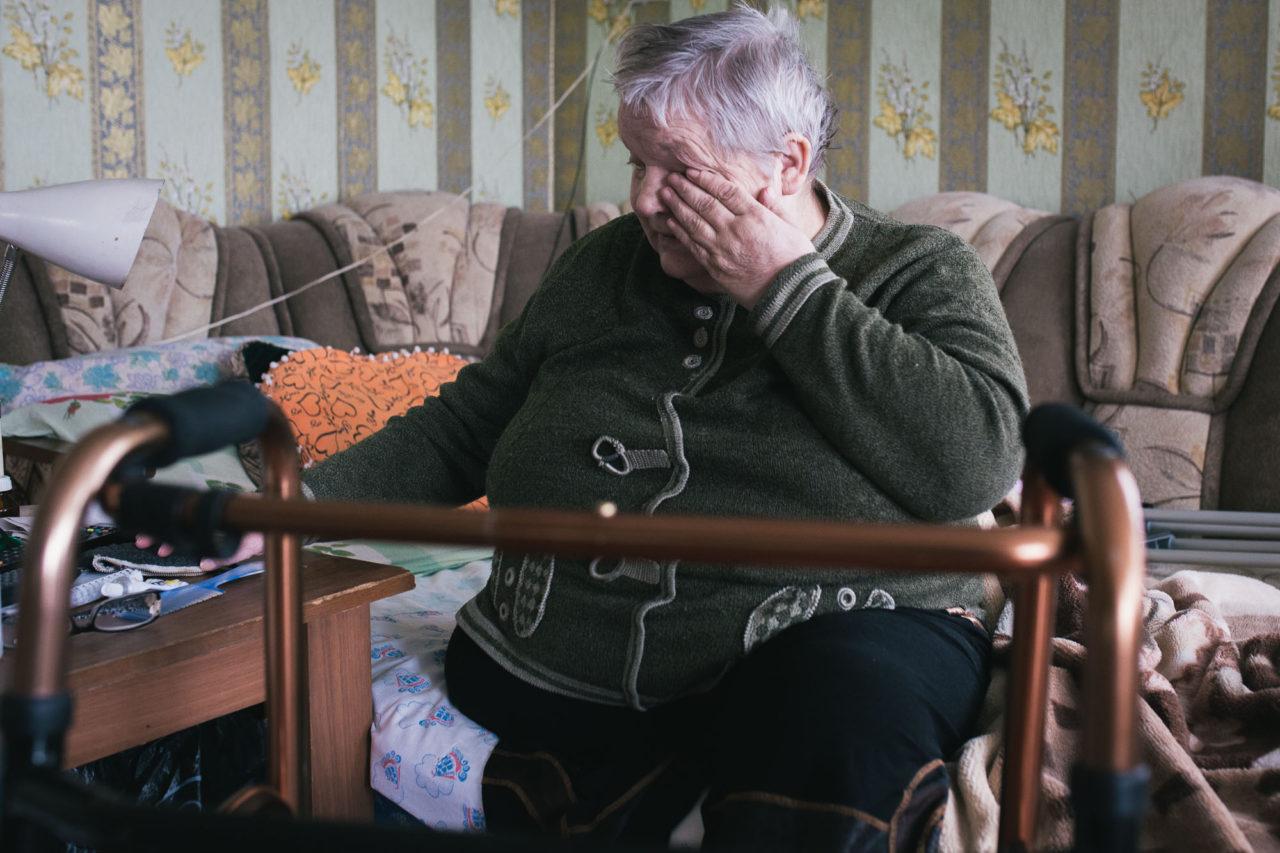 Надежда Прокопьевна у себя дома